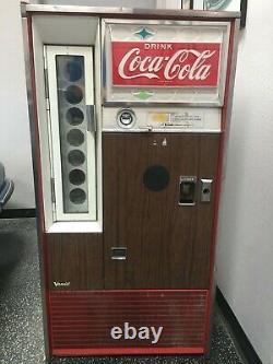 Vintage Coke Vending Machine. Built Feb. 1979