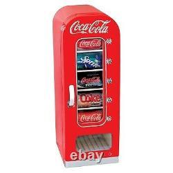 Vintage Coke Vending Machine Mini Red Retro Kitchen Fridge Ice Coca Cola Reward