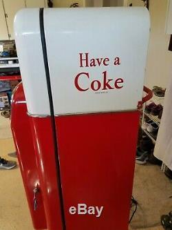 Vintage Coke Vendo Machine Model 44 Pop Coca COLA Original