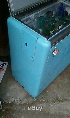 Vintage Ideal 50'sSlider Pepsi Machine Dispenser Cola Soda Pop