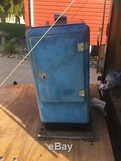 Vintage Ideal 55 Slider DOUBLE DOT Pepsi Machine Dispenser Coin Suburban Club