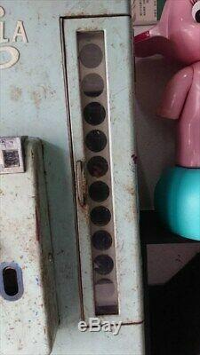 Vintage Junk Pepsi Cola Retro Bottle Vending Machine Very Rare