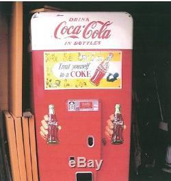 Vintage Original Coca-Cola Coke Vending Machine Vendo Big Boy Vertical V11