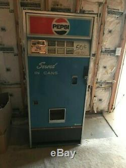 Vintage Pepsi Cola Vendorlator Soda Vending Machine Local Pickup