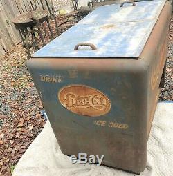 Vintage Pepsi Store Cooler