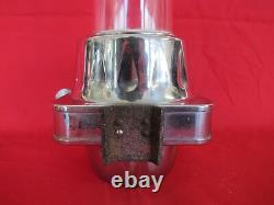 Vintage Puritan Cup Dispenser Glass Tube Soda Fountain Vending Nut Machine