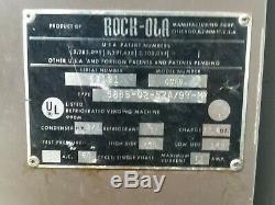 Vintage Rock-ola 6 Slot 12 Oz Soda Beer Can Vending Machine Working Condenser