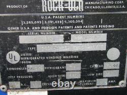 Vintage Rockola Pepsi Soda Can Vending Machine