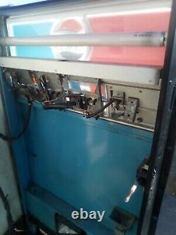 Vintage Rockola Pepsi Soda Can Vending Machine Great Condition