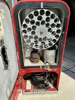 Vintage Vendo 39 Coke Machine Super Cooling With Rare Factory Working Bubbler
