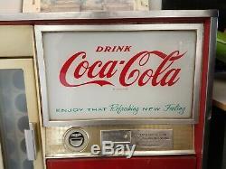 Vintage Vendo Coke Machine Coca Cola Pull Bottle
