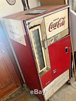 Vintage Vendo Coke Machine Coca Cola Pull Bottle Style 1960