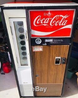 Vintage Vendo H63 Coke Machine, 1960's-1970s LOCAL PICKUP ONLY