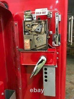 Vintage Working Vendo 39 Coke Machine Very Good Condition