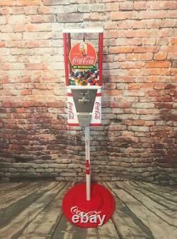 Vintage gumball machine coin op Coca cola Coke memorabilia bar game room gift