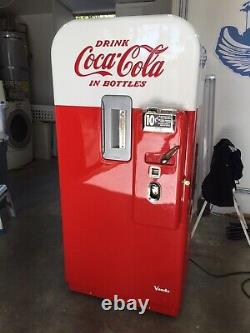 WORKING RESTORED Vintage 1955 Vendo 39 Coca Cola Vending Machine