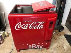 Westinghouse Standard Electric Coca Cola Coke Cooler Machine Art Deco Excellent